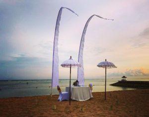 Bali-romantic dinner